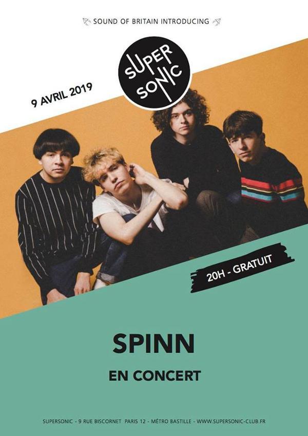 SOB Introducing SPINN en concert au Supersonic