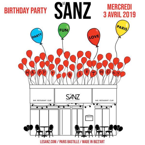 SANZ BIRTHDAY