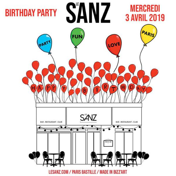 SANZ BIRTHDAY