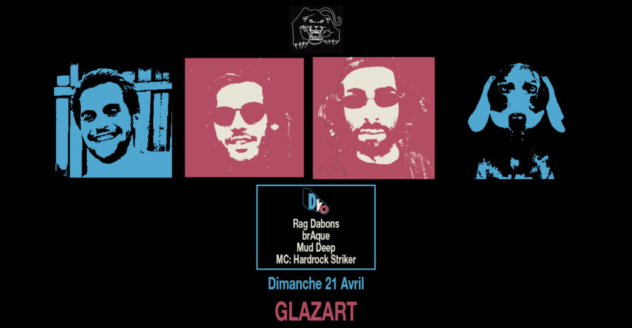 Skylax x Glazart: D.ko w/ Rag Dabons, brAque, Mud Deep & Hardrock Striker