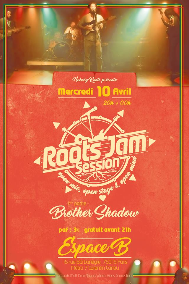 La Roots Jam Session à L'Espace B