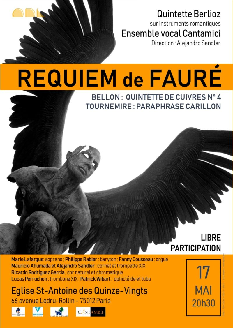 Requiem de Gabriel Fauré: direction Alejandro Sandler
