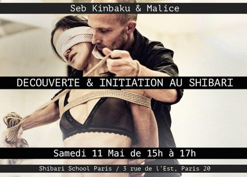 Cours Initiation au Shibari avec Seb Kinbaku et Malice