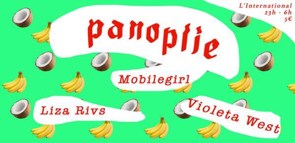 Panoplie  Mobilegirl  Violeta West  Liza Rivs