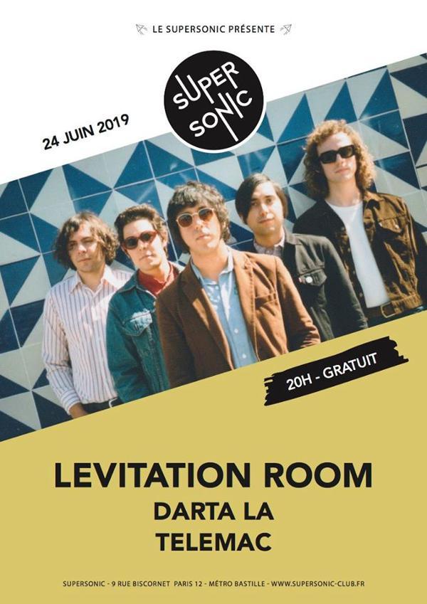 Levitation Room • Darta La • Telemac / Supersonic (Free entry)