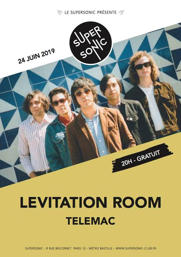 Levitation Room • Telemac / Supersonic (Free entry)