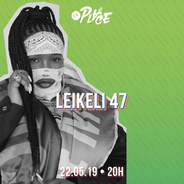 Concert • Leikeli47 • #LaPlaceHipHop, Paris