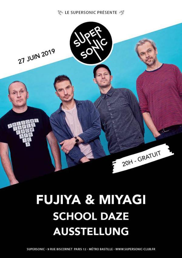 Fujiya & Miyagi • School Daze • Ausstellung / (Free entry)