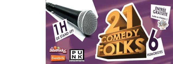 21 Comedy Folks #1
