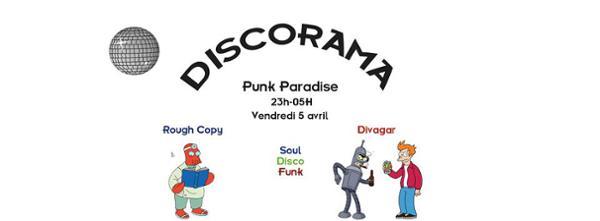 Divagar & Rough Copy - All Night Long au Punk Paradise