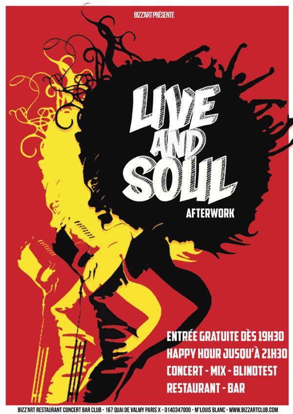 Live & Soul Afterwork