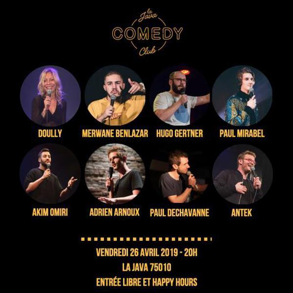 La Java Comedy Club #3