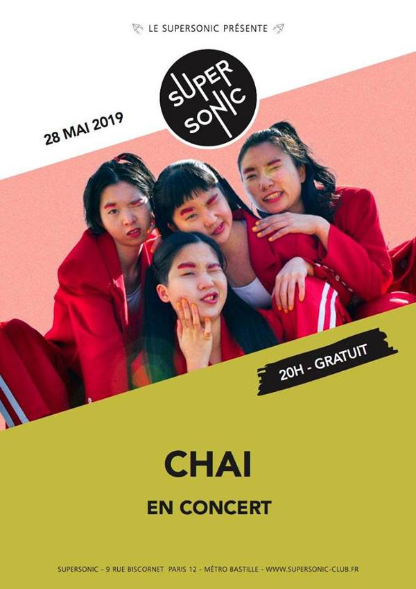 CHAI (Heavenly Recordings, Japan) au Supersonic / Free entry