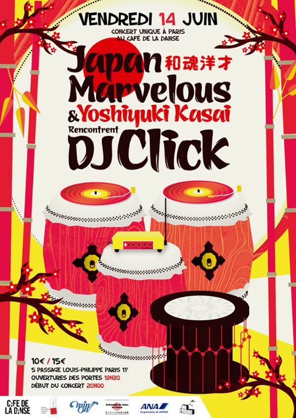 Japan Marvelous & Yoshiyuki Kasai rencontrent DjClick