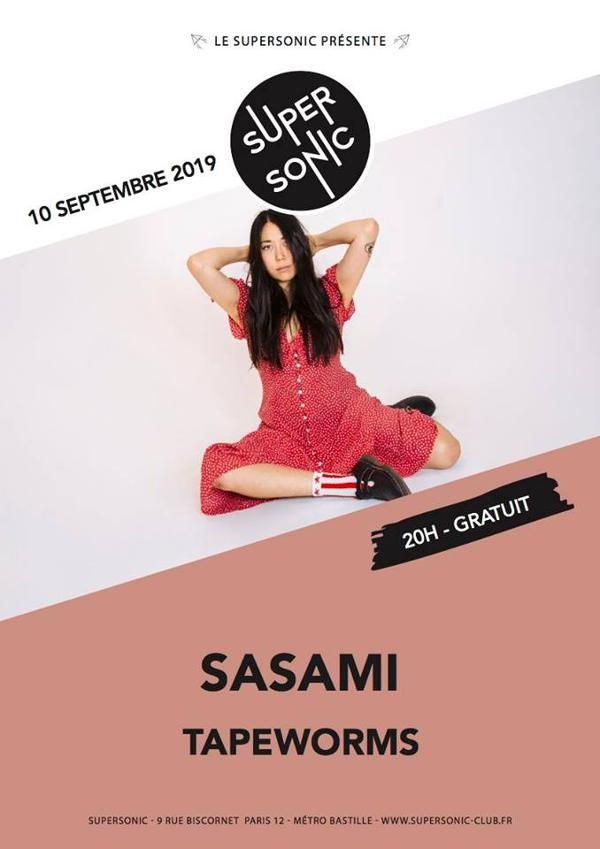 Sasami • Tapeworms / en concert au Supersonic (Free entry)