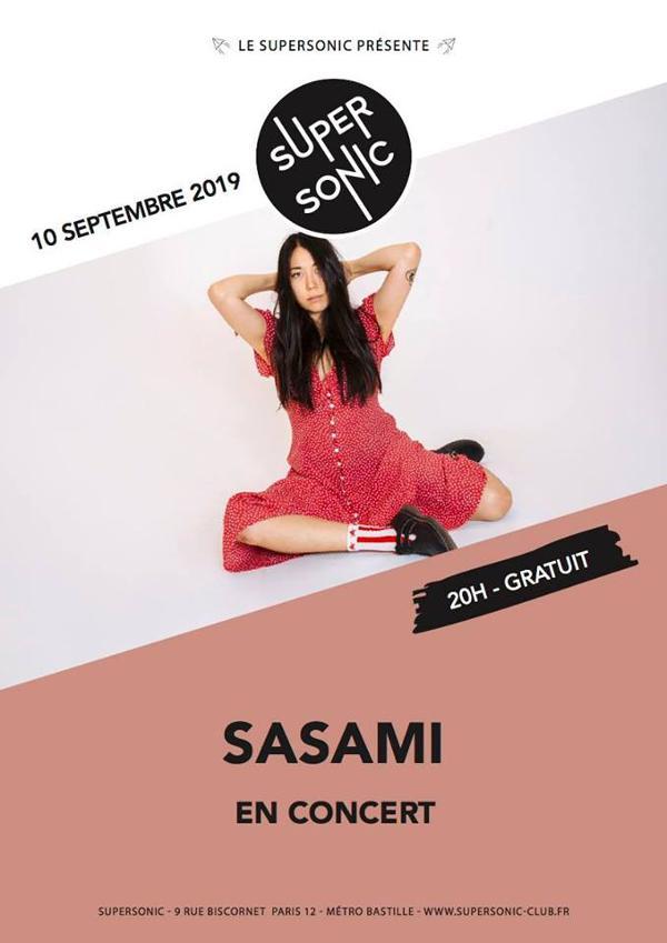Sasami (dream pop, domino rec) en concert au Supersonic