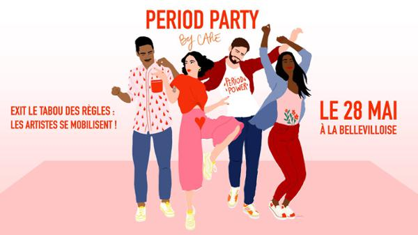PERIOD PARTY BY CARE