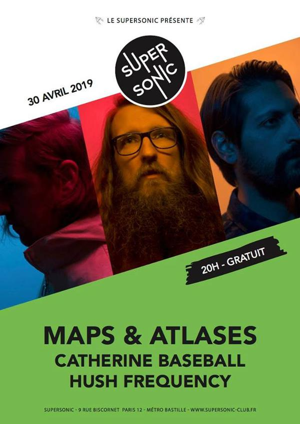 Maps & Atlases • Catherine Baseball • Hush Frequency (Free)