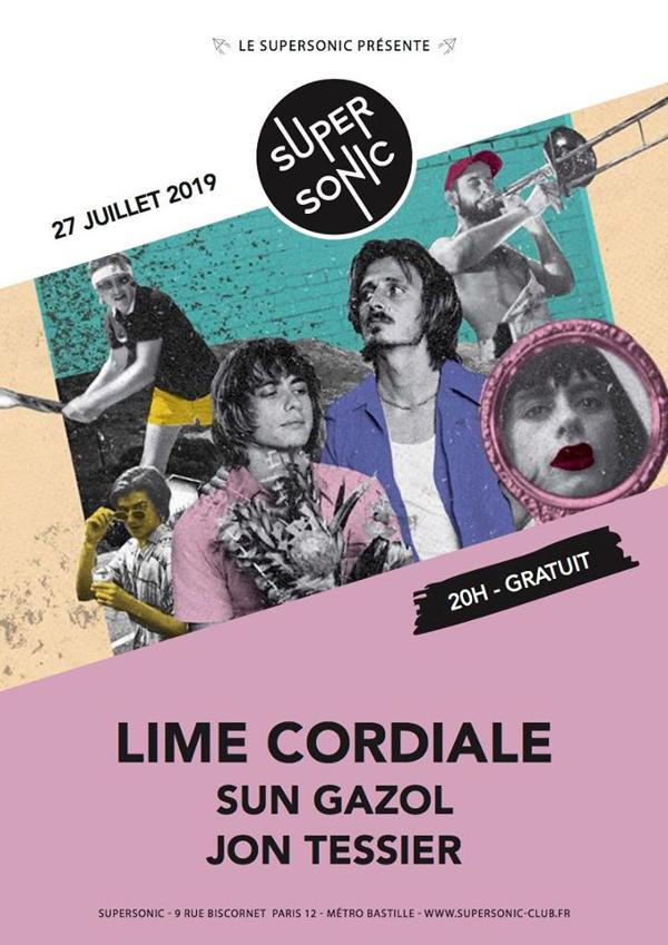Lime Cordiale • Sun Gazol • Jon Tessier / Supersonic (Free)