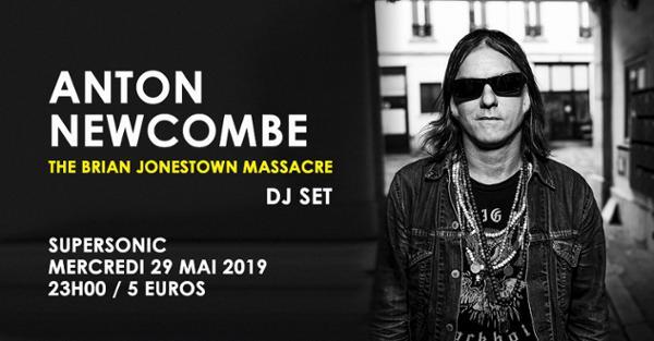 Anton Newcombe (The Brian Jonestown Massacre) DJ SET /Supersonic