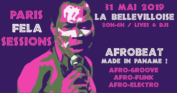 PARIS FELA SESSIONS - AFROBEAT MADE IN PANAME