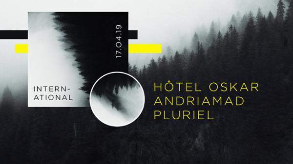 Hôtel Oskar // Andriamad // Pluriel à L'International