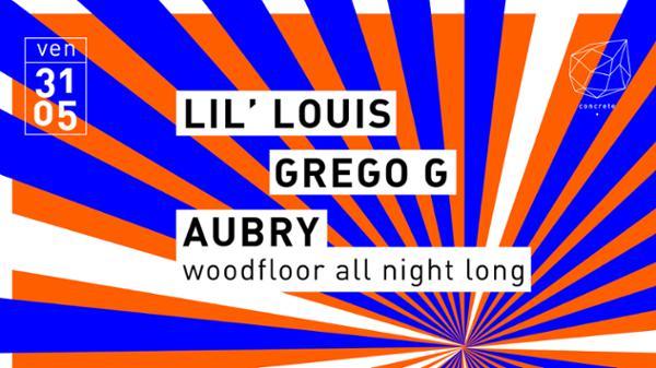 Concrete: Lil Louis, Grego G, Aubry