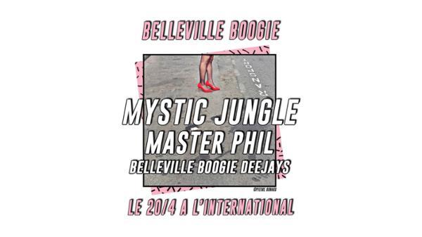 Belleville Boogie : Mystic Jungle, Master Phil & Résidents