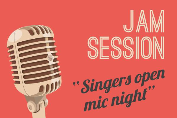 JAM SESSION 2019 #4 - SINGERS OPEN MIC NIGHT