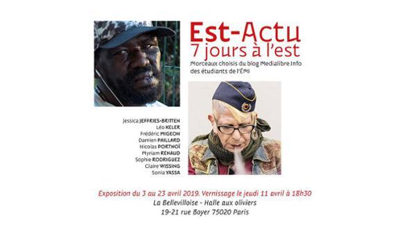 """VERNISSAGE """"EST-ACTU - 7 JOURS A L'EST"""""""