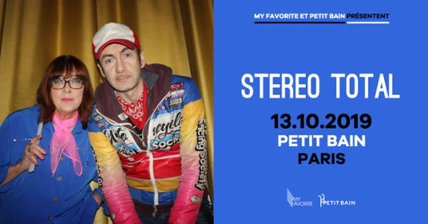 STEREO TOTAL + GUEST