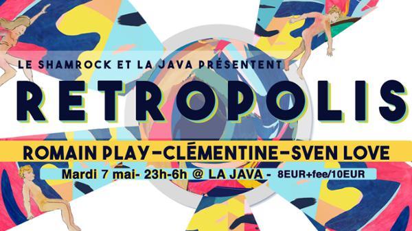 Rétropolis : Le Sham invite Romain Play, Clémentine & Sven Løve
