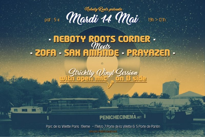 Néboty Roots Corner meets Sax Amande , Zofa & Prayazen