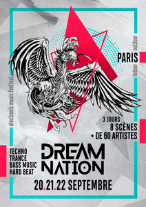 20-21-22 Sept 19 – DREAM NATION FESTIVAL – PARIS