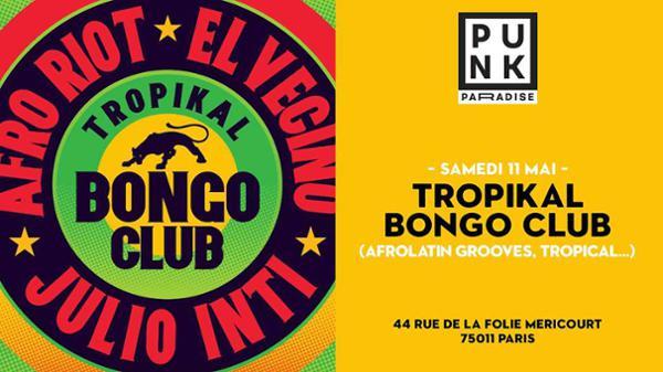Tropikal bongo club djs : afro riot - julio inti - el vecino