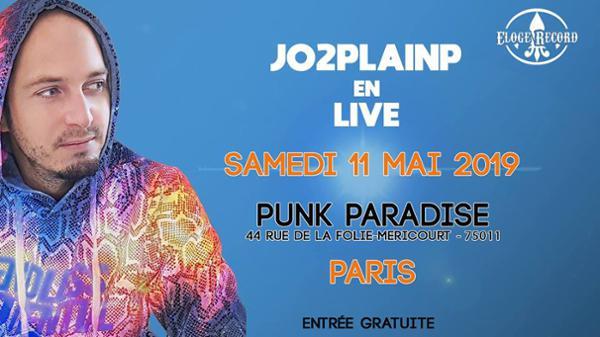 Jo2Plainp en Live @Punk Paradise - Paris
