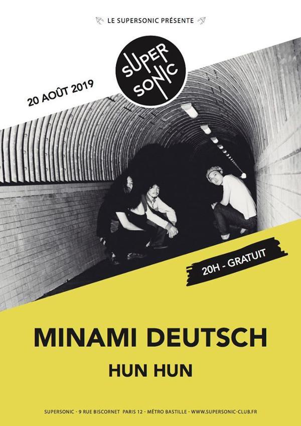 Minami Deutsch 南ドイツ • Hun Hun / En concert au Supersonic
