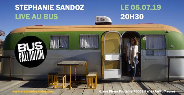 Stéphanie Sandoz au Bus Palladium