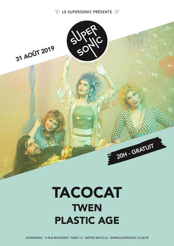 Tacocat (Sub Pop) • Twen • Plastic Age / Supersonic - Free entry