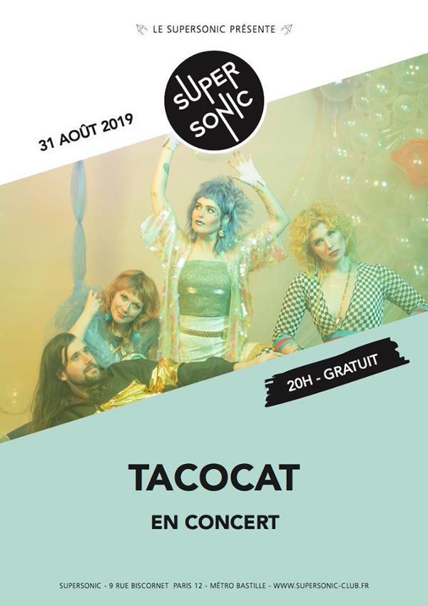 Tacocat (Sub Pop) en concert au Supersonic - Free entry