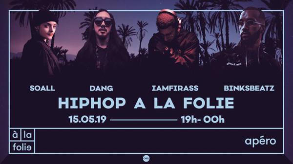 Hip Hop & BBQ à la folie invite Binksbeatz
