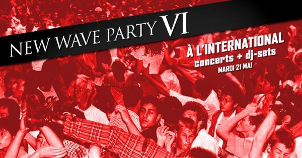 New Wave Party VI/A.D.Mana/Sky/Laisse-Moi + Dj Set