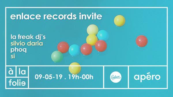 Enlace Records invite: La Freak !