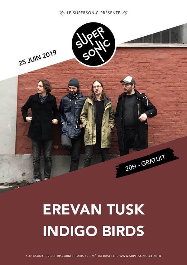 Erevan Tusk • Indigo Birds / Supersonic (Free entry)