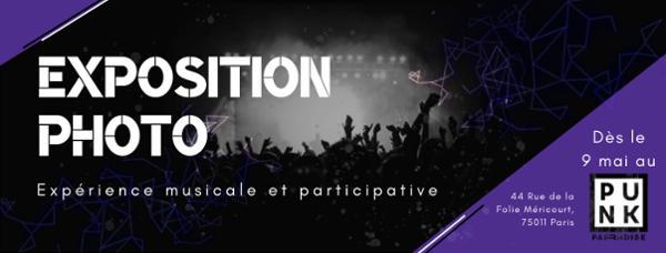 Vernissage Exposition - V/o/is ton concert au Punk Paradise