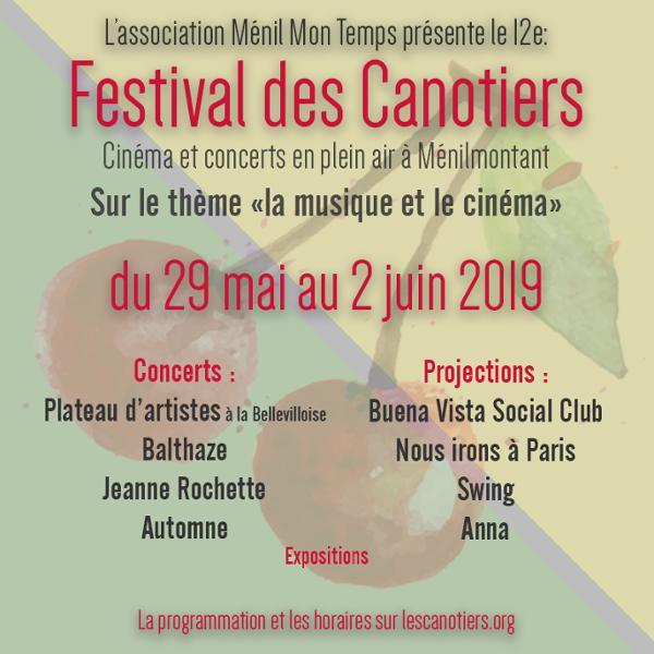 FESTIVAL DES CANOTIERS 2019