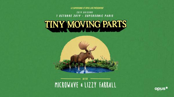 Tiny Moving Parts • Microwave • Lizzy Farrall / Supersonic