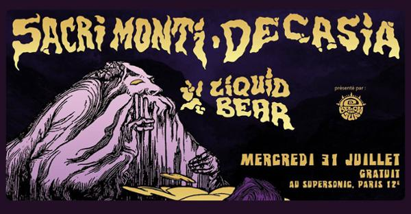 Sacri Monti  Decasia  Liquid Bear • Supersonic (Free)
