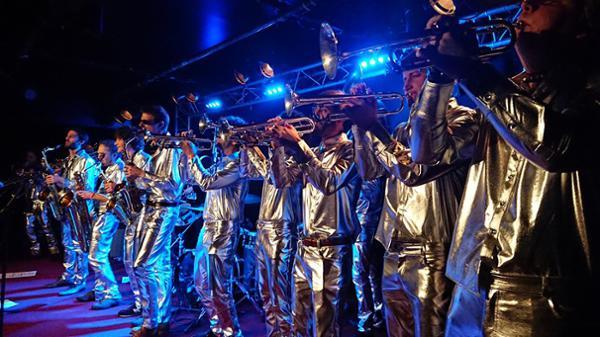 3615 Brass band + fanfare guest à l'Alimentation Générale