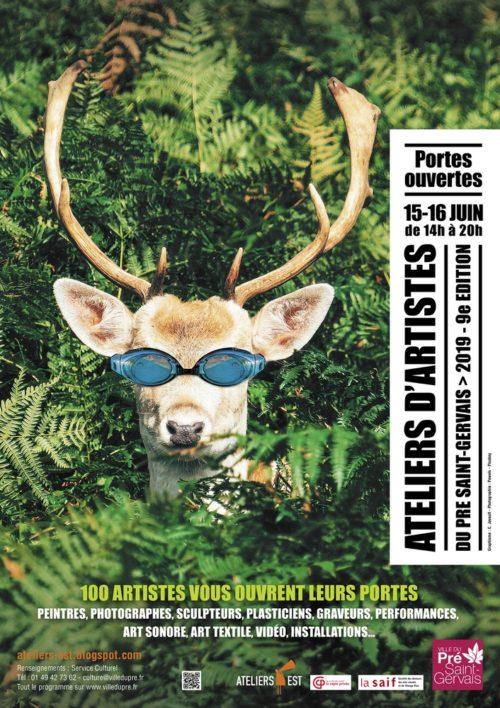 9e édition des Portes Ouvertes des Ateliers d'Artistes du Pré Saint-Gervais - ATELIERS-EST